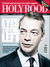 Holyrood Magazine Cover