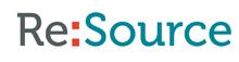 Re:source Logo